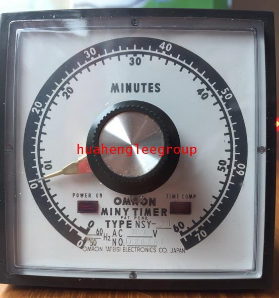 \'OMRON\' Miny Timer TYPE NSY-31 (100/110V) 50/60Hz