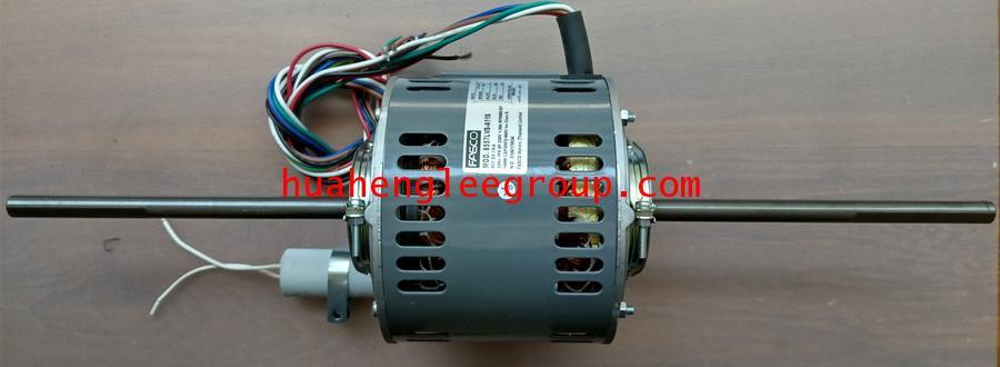 มอเตอร์พัดลม คอยล์เย็น FASCO (แฟนคอยล์) 2 แกน ขนาด 1/6HP รุ่น S2-1/6-A (8557LVS-A11S)