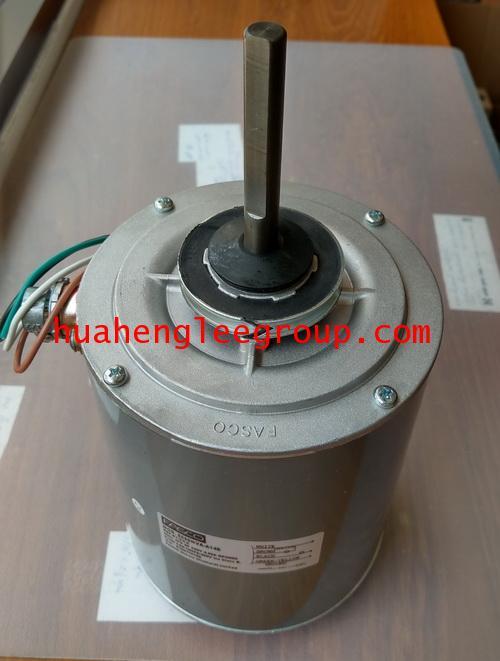 มอเตอร์ คอยล์ร้อน FASCO ชนิดกลม 3/4HP Model:B1-3/4-A (8556NVA-A14S)