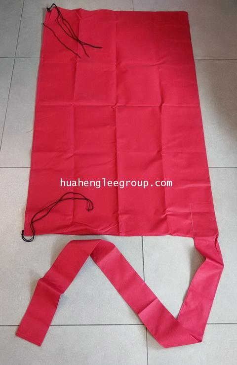 ผ้าใบสีแดง สำหรับล้างแอร์วอลไทป์ 100x150ซม. สำหรับแอร์ 9000-28000BTU พร้อมท่อน้ำทิ้งในตัว