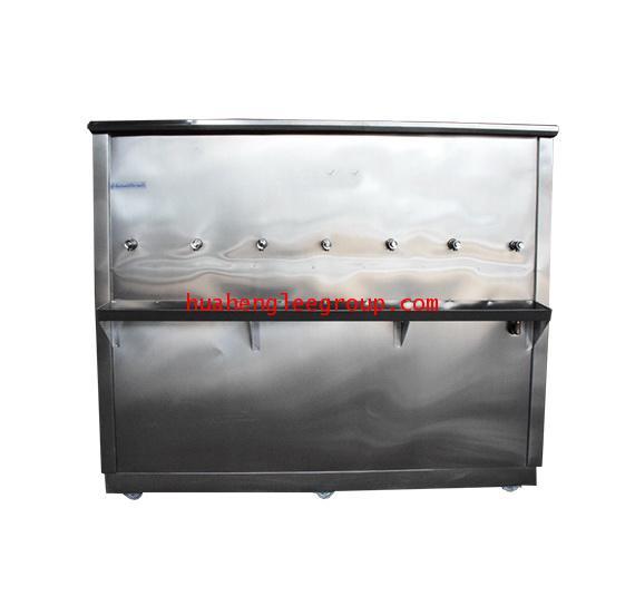 ตู้ทำน้ำเย็น \'KINXONS\' แบบต่อท่อประปา ขนาด 7 หัวก๊อก