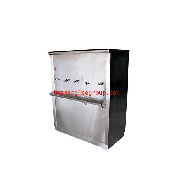 ตู้ทำน้ำเย็น \'KINXONS\' แบบต่อท่อประปา ขนาด 5 หัวก๊อก