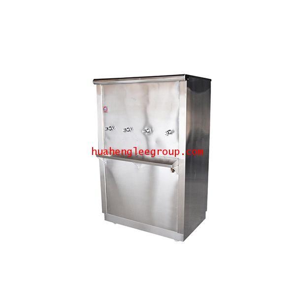ตู้ทำน้ำเย็น \'KINXONS\' แบบต่อท่อประปา ขนาด 4 หัวก๊อก