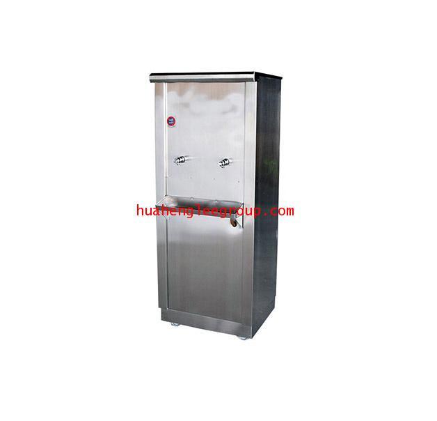 ตู้ทำน้ำเย็น \'KINXONS\' แบบต่อท่อประปา ขนาด 2 หัวก๊อก