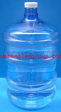 ขวดน้ำพลาสติกใส (PET) 18.9 ลิตร ใช้สำหรับตู้น้ำเย็น