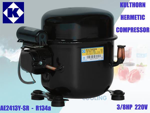 คอมเพรสเซอร์ AE2413Y-SR 3/8HP 134a