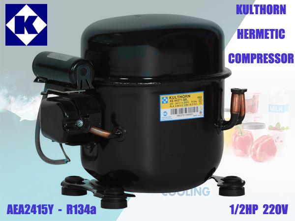 คอมเพรสเซอร์ AEA2415Y 1/2HP R134a