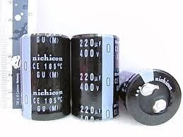 A04457 NICHICON CE 105 ������������ GR(M) 150UF 400V