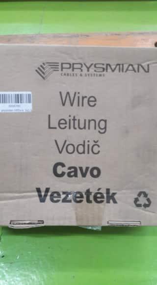 PRYSMIAN H05V-K 1x1 MM2 RED 100M