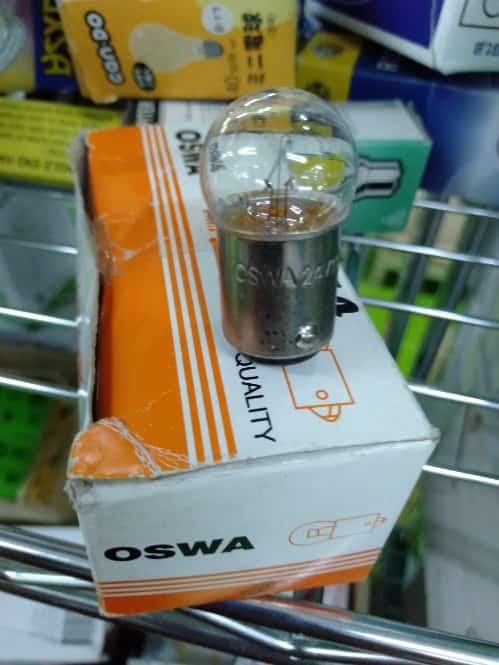 A02911 OSWA 70 G18.5 24V 10W BA15D