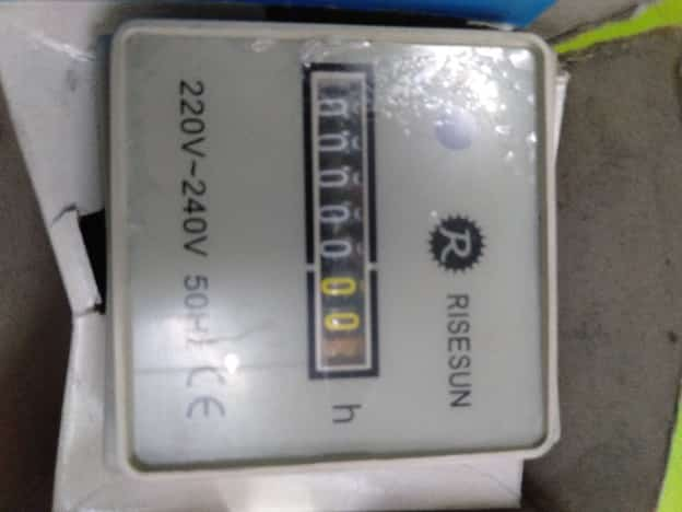 A03353 RISESUN HOUR METER HM-1 220-240V 50Hz
