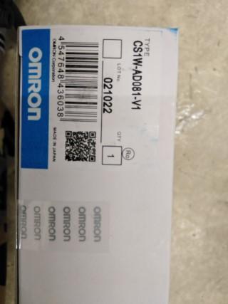 OMRON CS1W-AD081-V1 ราคา 6750 บาท