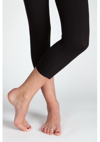 Charlotte Russe Basic Leggings เล้กกิ้งความยาวครึ่งน่องสีดำ