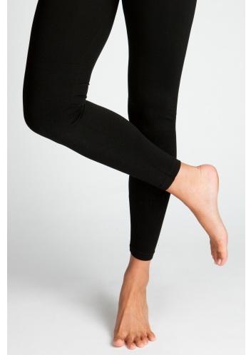 Charlotte Russe Basic Leggings เล้กกิ้งขายาวสีดำ