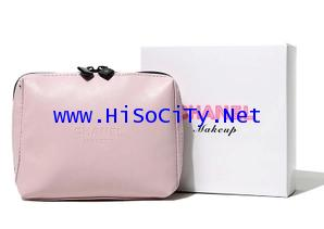 Chanel Light Pink Soft Leather Cosmetic Bag กระเป๋าใส่เครื่องสำอางสีชมพูอ่อนสุดสวย