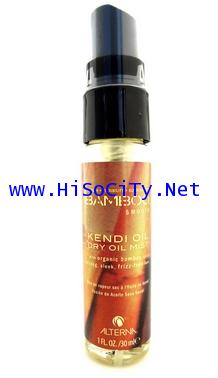 ALTERNA Bamboo Smooth Kendi Oil Dry Oil Mist สเปรย์บำรุงเส้นผมให้แข็งแรงและเงางาม 30ml.