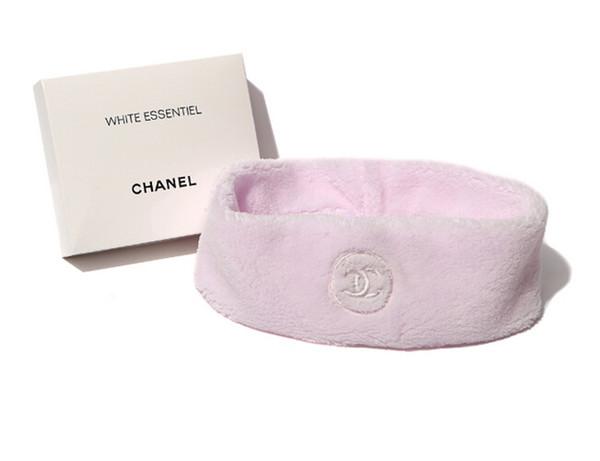 Chanel Pink Headband ผ้าคาดผมสีชมพู พร้อมกล่อง