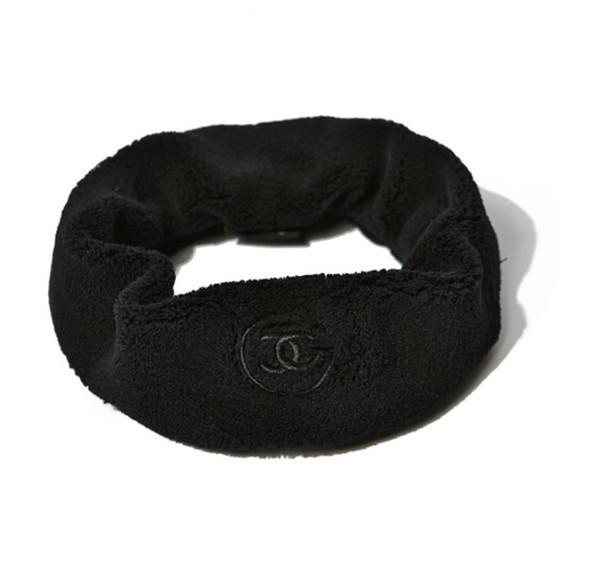 Chanel Black Headband ผ้าคาดผมสีดำ พร้อมกล่อง