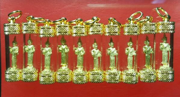 เทพทันใจ เทพเจ้าแห่งโชคลาภ ปลุกเสกโดย พระเกจิไทย พม่า 3