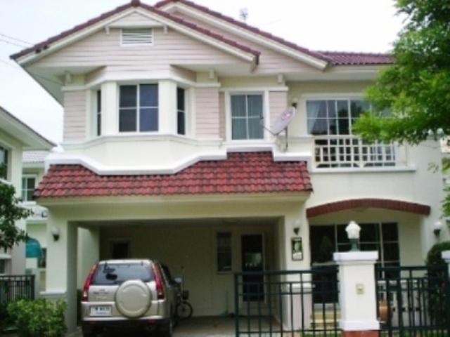 บ้านเดี่ยว 2 ชั้น หมู่บ้านมัณฑนา รังสิตคลอง2 ปทุมธานี (โครงการL&H)