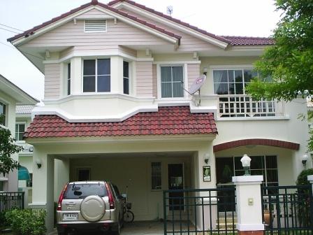 บ้านเดี่ยว 2 ชั้น หมู่บ้านมัณฑนา รังสิตคลอง2 ปทุมธานี บ้านดารา ตกแต่งสวยมากๆ