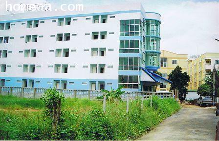 อพาร์ทเม้นปรียานัช 2อพาร์ทเม้น 5 ชั้น (มีนบุรี) เนื้อที่ 2 งาน 12 ตร.วา มี 45 ห้อง