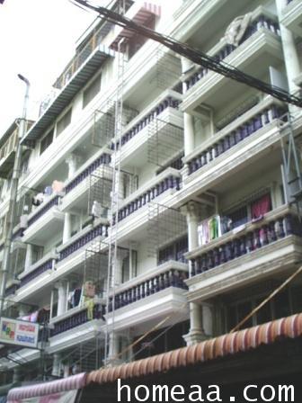 หอพักหญิง 6 ชั้น หมู่บ้านศุภรัตน์ รามคำแหง 43 เนื้อที่ 15.2 ตร.วา ปัจจุบันมีผู้เช่าอยู่