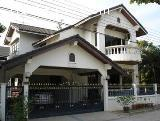บ้านเดี่ยว 2 ชั้น หมู่บ้านนครินทร์การ์เด้น ร่มเกล้า เนื้อที่ 89.90 ตร.วา พร้อมอยู่