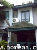 ทาวน์เฮ้าส์ 2 ชั้น หมู่บ้านวรางกูล ซ.รังสิต-นครนายก เนื้อที่ 33 ตร.วา สภาพพร้อมอยู่