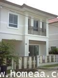 บ้านแฝด 2 ชั้น หมู่บ้านพร้อมพัฒน์ เฟส1 เนื้อที่ 35.10 ตร.วา ซาฟารีเวิลด์ สภาพพร้อมอยู่