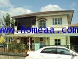 บ้านเดี่ยว 2 ชั้น (มุม) ม.ชลลดา ซ.วัดลาดปลาดุก เนื้อที่ 72.80 ตร.วา ต.บางรักพัฒนา นนทบุรี