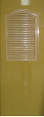 ประตูพีวีซี หนา 1.5 นิ้ว thai door express สีสักทองพิเศษ