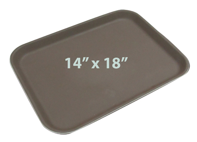 ถาดเสริฟกันลื่นสี่เหลี่ยม ขนาด 18 x 14 นิ้ว  1603-007
