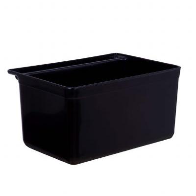 ขนาดกล่องเล็กเก็บช้อน (สีดำ) 1403-016
