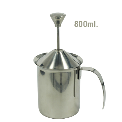 เหยือกตีฟองนม มีสปริง 800 มิลลิลิตร 1610-229