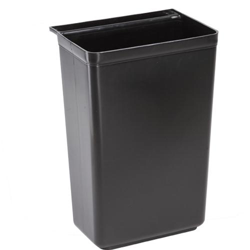 กระบะถังยาวสีดำ (สำหรับรถเข็นเก็บจาน) 1403-003