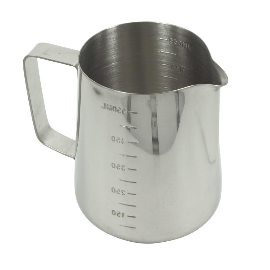 เหยือกใช้สำหรับตีฟองนม 550 ml. สเกลวัดปั้มนูน 2 ด้าน 1610-249