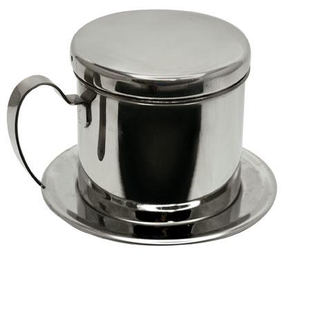 ถ้วยชงกาแแฟเวียดนาม สแตนเลส มีด้ามจับ 1610-348