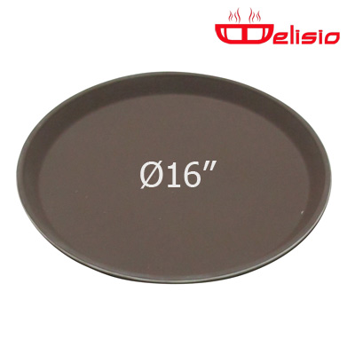 Delisio Round Non-Slip fiberglass Tray ถาดกลม Delisio 16 นิ้ว 1603-060