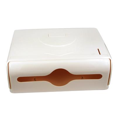 กล่องจ่ายกระดาษทิชชู่ สีดำ 0613-019