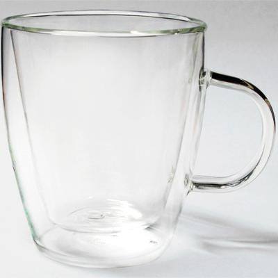 แก้วกาแฟ 2 ชั้น 375cc. มีหู 1610-388