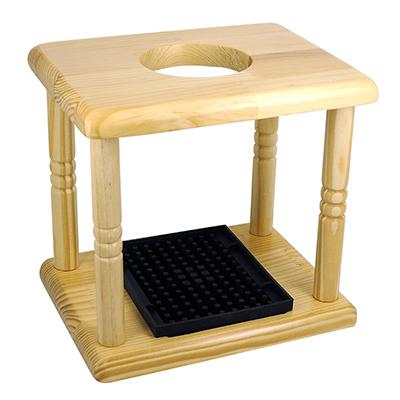 ดริปสเตชั่นไม้สี่ขาสำหรับกรองกาแฟแบบหยด หรือ กาแฟดริป 1610-445