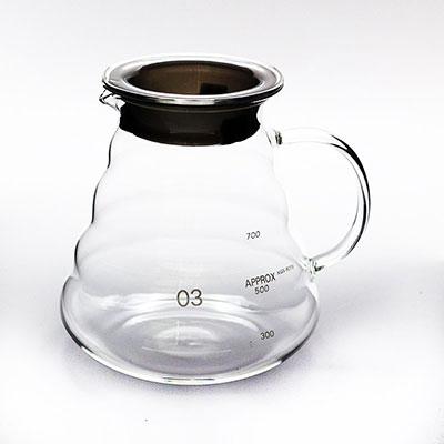 โถแก้วดริปกาแฟ 800 ml. 1610-460
