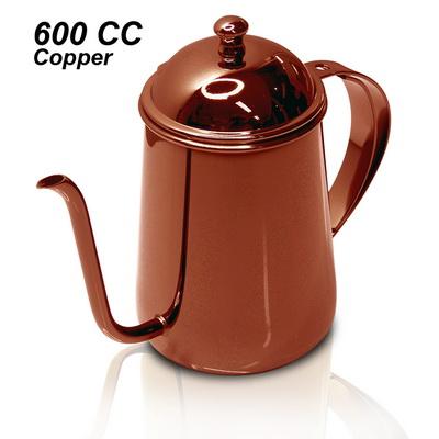 กาต้มน้ำดริปกาแฟ สีคอปเปอร์ 600 ซีซี. 1610-311-C14