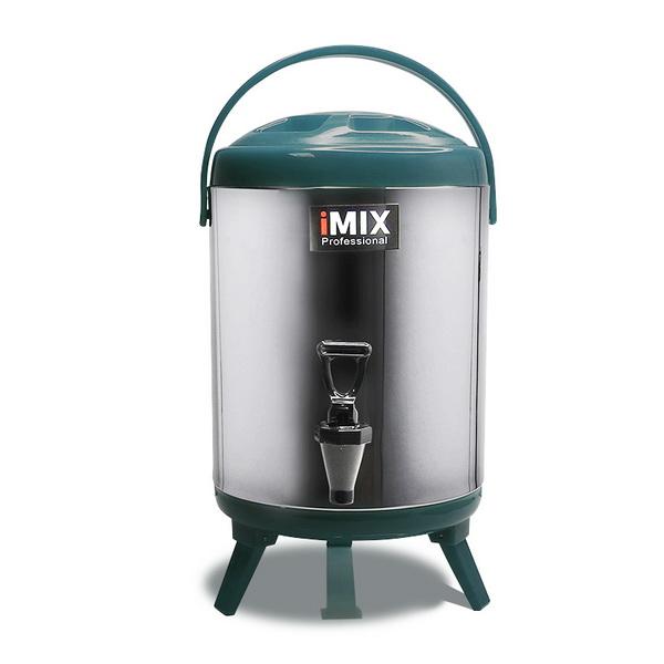 ถังเก็บชา กาแฟ  และเก็บเครื่องดื่มร้อน-เย็นได้ ความจุ 8 ลิตร สีเขียว 1614-129-C06