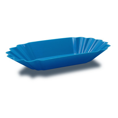 ถาดพลาสติกใส่โชว์เมล็ดกาแฟ สีน้ำเงน 1610-572-C08