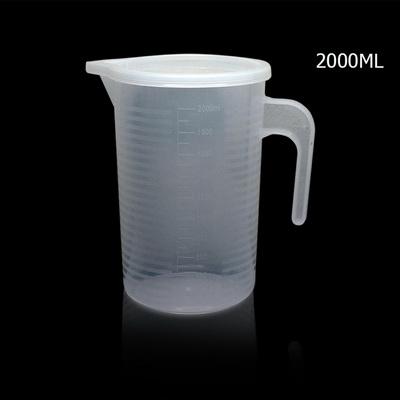 ถ้วยตวงพลาสติก 2000 CC มีฝาปิด 1610-619