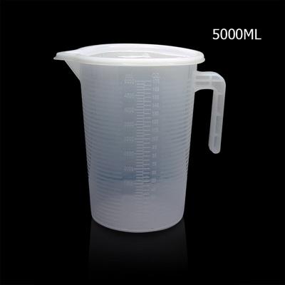 ถ้วยตวงพลาสติก 5000 CC มีฝาปิด 1610-621