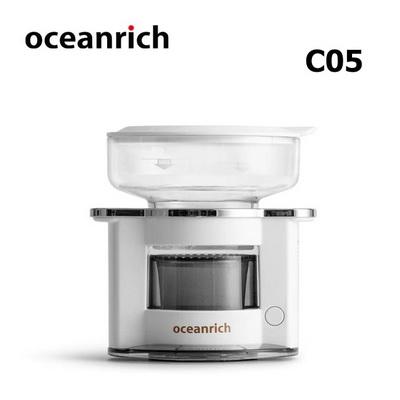 เครื่องดริปกาแฟโอเชี่ยนริช Oceanrich 150 มล. เครื่องเทน้ำดริปอัตโนมัติ-สีขาว 1614-201-C05