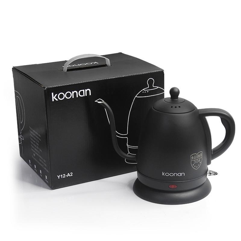 กาต้มน้ำดริปกาแฟ กาคอห่าน Koonan 1000 ml. สีดำ  1614-181-C01